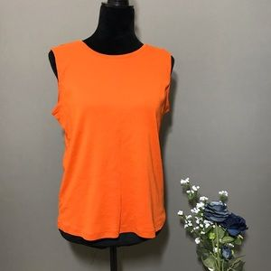 Christopher & Banks Orange Tank Top